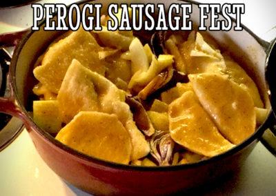 Sausage Perogi Recipe