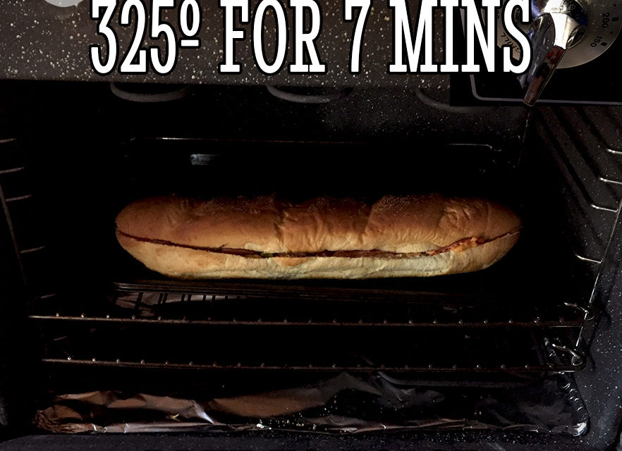 Giant 2-Man Submarine Sandwich